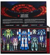 Transformers G1 AUTOBOT HEROES Ultra Magnus Springer Arcee Sergeant Kup Blurr