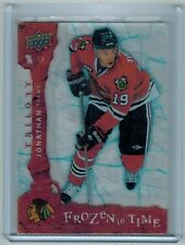 2008-09 UD TRILOGY JONATHAN TOEWS #117 FROZEN IN TIME 409/799 BLACK HAWKS