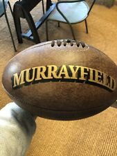 A Full Size Vintage leather 'Murrayfield' Rugby Ball