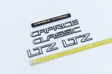 91 92 93 94 95 96 Chevrolet Caprice 5.7 LTZ 9C1 Emblems Trunk Lid Fender Dash