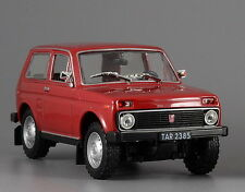 Model car VAZ-2121 Niva USSR - DeAgostini - Autolegends of USSR scale 1/43
