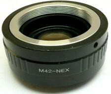Focal Reducer Lens Booster Adapter Pentax M42 to Sony E mount α6100 α6300 camera