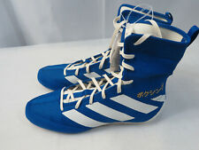 Adidas Box Hog 3 Eg5170 Boxing Shoes Men's Size 11 Blue/White New