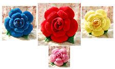 Rose Flower Shape Bed Sofa Chair Throw Cushion Lumbar Pillow Lover Wedding Gift