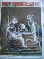 Casper The Friendly Ghost Tray Puzzle By Golden 1995 Pvc