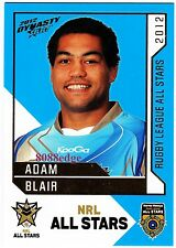 2012 SELECT DYNASTY NRL ALL STARS #AS32: ADAM BLAIR - WESTS TIGERS