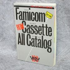 FAMICOM ROM CASSETTE ALL CATALOG 1990 Game Guide Cheat Book 619 Title