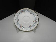 """Minton Chartwell Saucer White Florals TM 5 7/8"""" D"""