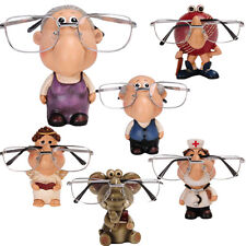 GLASSES HOLDER STAND NOSE RACK READING SPECTACLES GIFT SET SUNGLASSES SPECS SUN