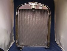 1930 1931 MODEL A  aluminum radiator with  stock 4cyl motor