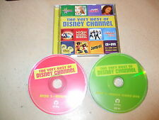 The Very Best Of The Disney Channel - Original Soundtrack (CD & DVD Set) Nr Mint