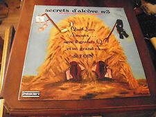 secrets d'alcôve n° 3 - Maryse Martin -  andré Daick- disque président KVP 275