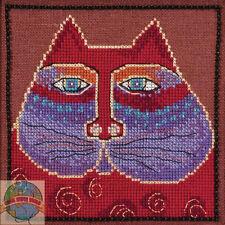 Cross Stitch Kit ~ Laurel Burch / Mill Hill Red Cat #Lb30-5115 (Aida)