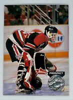 1991-92 Pro Set Platinum Dominik Hasek #252 Rookie Card RC Chicago Blackhawks