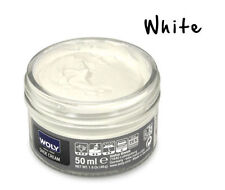 Woly Shoe Creams Restoration Condition Leather Bag Shoes Care - WHITE