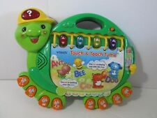 Vtech Touch & Teach Turtle Learning Toy Numbers Alphabet