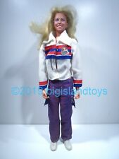 """The Bionic Woman Jamie Sommers #2 Vintage Kenner 1974 12"""" 1:6 Action Figure"""