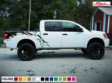Decal Sticker Graphic Side Bed Mud Splash Kit for Nissan Titan 2003-2015 Offroad