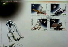 Portugal Astronomy 2002 Space Rocket Astronaut Galaxy Univesal Earth (stamp Fdc)
