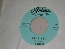VINYL 45 RPM ROCK: THE BUSTERS: BUST OUT `63 INSTRUMENTTAL EX.