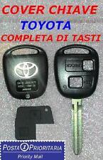 *POSTA 1*Cover Guscio Chiave Telecomando TOYOTA Corolla Yaris Avensis Rav4 Prado