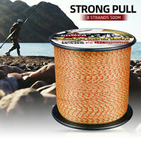 PE Braided Fishing Line 500M Japan 8 Weaves Super Strong Spot Multifilament Line