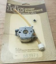 Genuine NOS idc Ryobi Ryan Trimmer CARBURETOR Assembly OEM Vintage Walbro