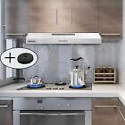 30 Inch Under Cabinet Range Hood Stainless Steel Kitchen Cooking 230 CFM Vented photo