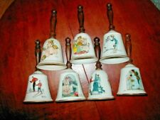 Gorham China Norman Rockwell Bells - 7 - 1970s-1980s