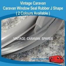 Caravan Window Frame Seal  ( J SHAPE WR019 GREY ) Millard, Roma, Evernew