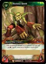 WOW World of Warcraft TCG Loot Card Vicious Grell WOW Gregarious Grell Moss Pet