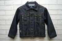 BURBERRY LONDON Giacca in Jeans Blu Denim Taglia 6 ANNI Cappotto Jacket Kids