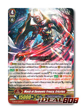 Cardfight Vanguard  x 4 Mask of Demonic Frenzy, Ericrius - G-BT07/038EN - R Mint