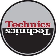 Technics Moon 3 Slipmats (silver Black Red)