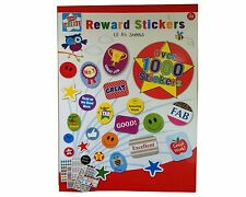 10 Sheets Childrens Reward Stickers for Kids Motivation Over 1000 Stickers Fun