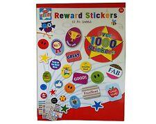 10 Hojas de Pegatinas de recompensa para niños para niños motivación de más de 1000 Pegatinas Diversión