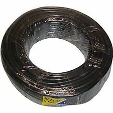 Motorcycle HT Lead 7mm OD Black Copper Core (Sold In 1 Metre Lengths)