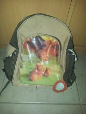 cartable petit sac ecole maternelle vert kaki