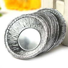 Hot Muffin Cookie Egg Tart Fresh Disposable Baking Mold Tin Foil Cake Cup NP2C