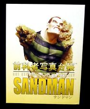 Sandman Bust Statue New 2002 Diamond Select Art Asylum Rogues' Gallery SpiderMan