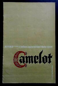 Camelot programme Bristol Hippodrome Theatre 1965 Paul Daneman Elizabeth Larner