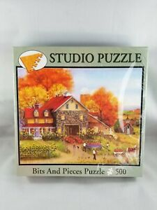 Bits and Pieces 500 Piece Jigsaw Puzzle Peg's Sunny Sunflowers Mary Ann Vessey