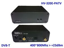 HV-320E-PATV FPV Full HD Video Transmitter (400~800Mhz), HDMI/CVBS to DVB-T