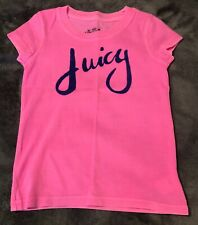GIRLS DESIGNER JUICY COUTURE TSHIRT AGE 4 YEARS BNWOT