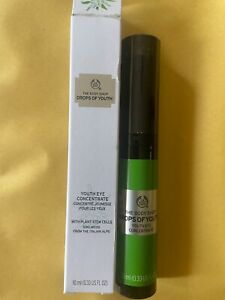The Body Shop Drops of Youth Eye Concentrate New in Box
