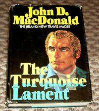 HB first edition The Turquoise Lament by John D. MacDonald