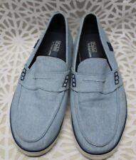Men's Ralph Lauren Polo Slip-ons - 12 D - Blue Chambray