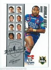 Single-Insert Select NRL & Rugby League Trading Cards