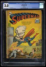Superman #8 CGC GD/VG 3.0