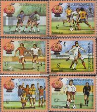 Laos 547-552 (complète edition) neuf avec gomme originale 1982 Football-WM dans